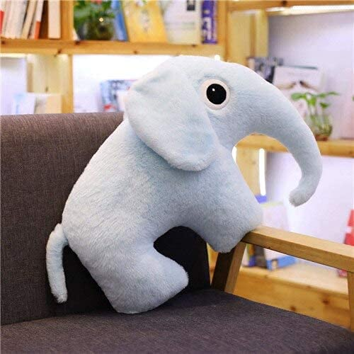 Stuffe'd & Plush Animals - 1pc 50cm Elephant Crocodile Hippopotamus Fawn Rhinoceros Ant Plush Toy Stuffe'd Soft Animal Cartoon Lovely Pillow for Kids (elephant 2) LATT LIV