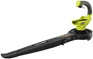 Ryobi Ry40400 40 Volt Blower, Battery and Charger Not Included (Renewed)