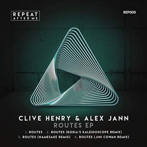 Clive Henry, Alex Jann