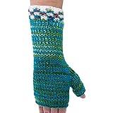 TUMI De lana de colores calentadores para brazos, de comercio justo y Mano y A-funda de punto para Bolivia-One patrones e instrucciones para