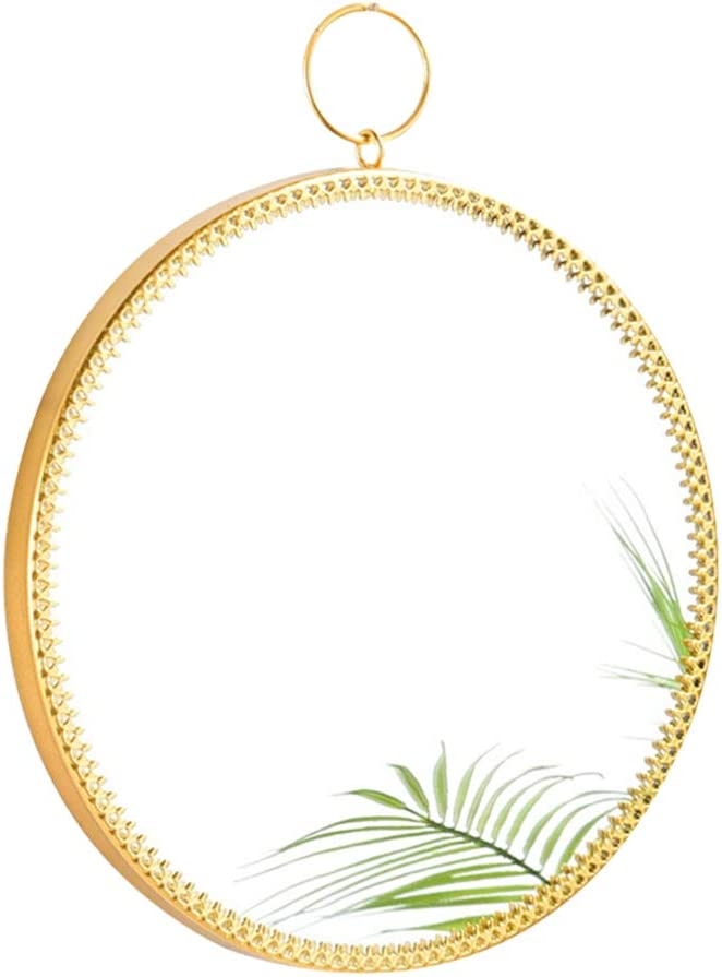 High quality CLISPEED Wall Hanging Cheap bargain Round Mirror Decor Loop with Vanity