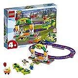 LEGO 4+ Toy Story 4: Alegre Tren de la Feria, Juguete de Construcción...
