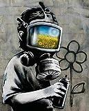 YWOHP Póster Graffiti Pop Art Pared Pintura al óleo póster Impresiones Mural Abstracto Sala Comedor ...