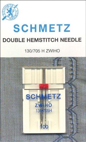 Euro-Notions Doble con vainica Lavadora Needle-Size 16/1001/Pkg, Otros, Multicolor