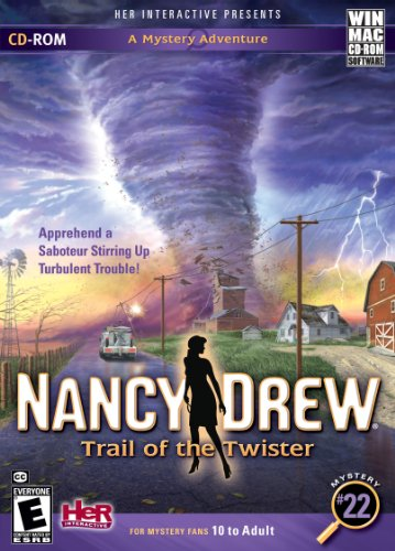 Preisvergleich Produktbild NANCY DREW - TRAIL OF THE TWISTER