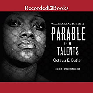 Parable of the Talents                   Auteur(s):                                                                                                                                 Octavia E. Butler                               Narrateur(s):                                                                                                                                 Patricia R. Floyd,                                                                                        Peter Jay Fernandez,                                                                                        Sisi Aisha Johnson                      Durée: 15 h et 26 min     8 évaluations     Au global 4,6