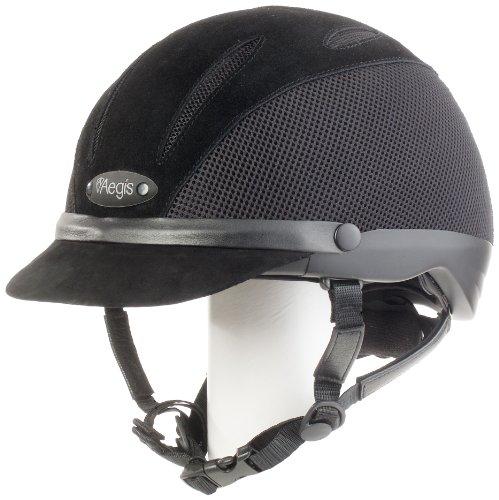 Devon Aire Adult Concour Riding Helmet, Medium, Black