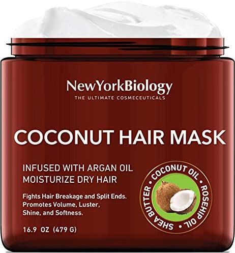 Coconut Hair Mask for Hair Growth and Volume Infused with Argan Oil Moisturizing and Deep Conditioning product image