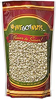 White Hulled Sesame Seeds - We Got Nuts (5 Pounds.)
