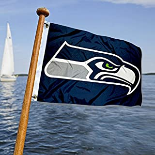 WinCraft Seattle Seahawks Boat and Golf Cart Flag