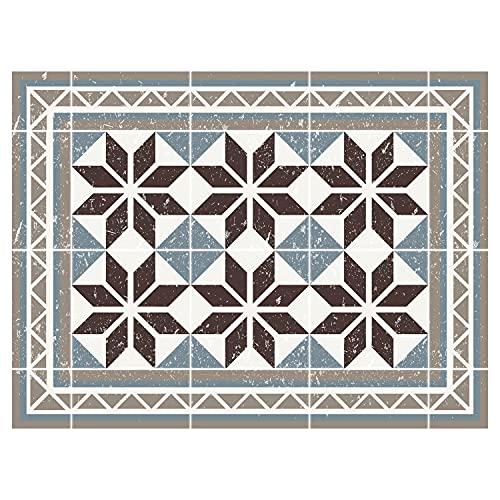 contento Mantel Individual de Vinilo, Azul, 30 x 40 cm