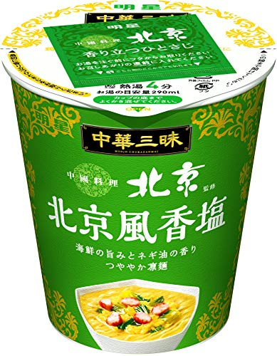 明星 中華三昧 タテ型 中國料理北京 北京風香塩 64g ×12個