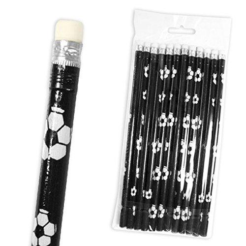 Fußball Bleistifte, 12 Stk