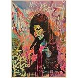 QINGRENJIE Sängerin Amy Winehouse Musik Klassische Vintage