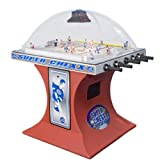 Super Chexx ICE Non-Coin Deluxe Home Bubble Hockey Table