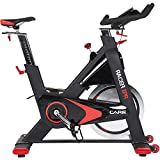 CARE FITNESS - Racer XPR Electronique - Spin Bike Haut de Gamme - Vélo d'Appartement Spinning - Vélo Spinning Electronique - Masse d'Inertie 24 kg - Ordinateur Multi Fonctions - Vélo Appartement Care