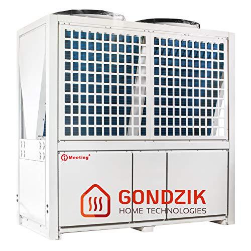 Meeting MD200D Luft Wasser Wärmepumpe Luftwärmepumpe 72 KW Neuware (Standard (weiß),Ohne Brauchwassermodul (D))