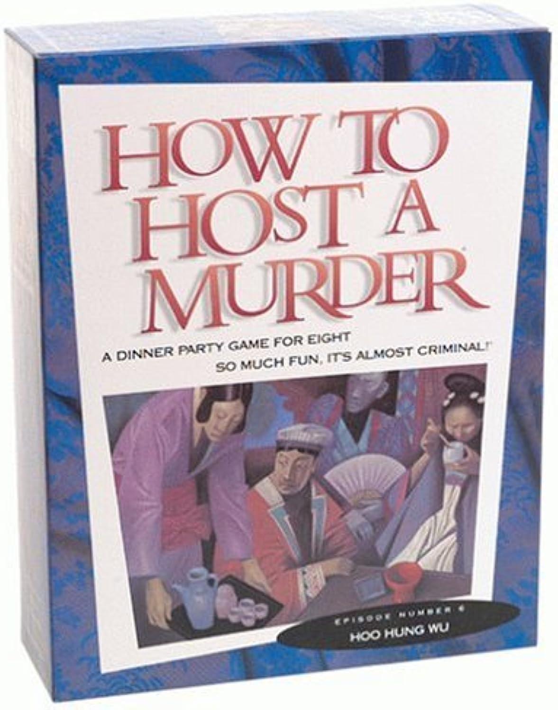 mejor reputación How to Host a Murder  Hoo Hung Wu by by by Intuitive Marketing  para proporcionarle una compra en línea agradable