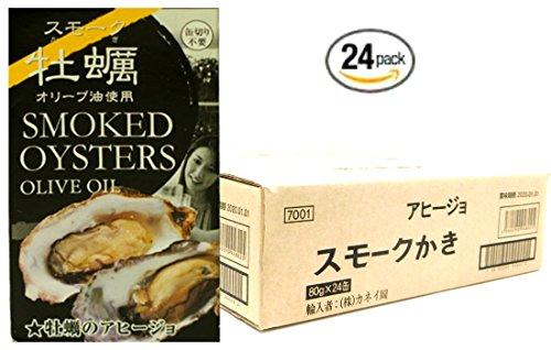 スモーク牡蠣缶詰(アヒージョ味) ×24