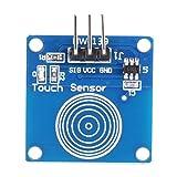 5個TTP223Bモジュールセンサータッチスイッチモジュールタッチスイッチデジタルセンサー