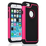 iPhone 6 Case, Kuteck for Apple iPhone 6 (4.7) Hybrid PC Shockproof Rugged