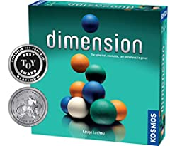 Dimension is a fast-paced, innovative puzzle game that takes place in three dimensions with 60 colorful spheres All of the players play at the same time Everybody tries to position the spheres on their trays to earn as many points as possible The tas...