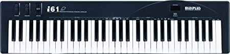 midiplus, 61-Key MIDI Keyboard Controller (i61),Black