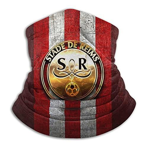 St-At-E De R-Eims Logo Dorado Cálido Cuello Bufanda Turbante Headgear Cara Toalla Cuello Protección a prueba de viento a prueba de polvo Pasamontañas Sombrero