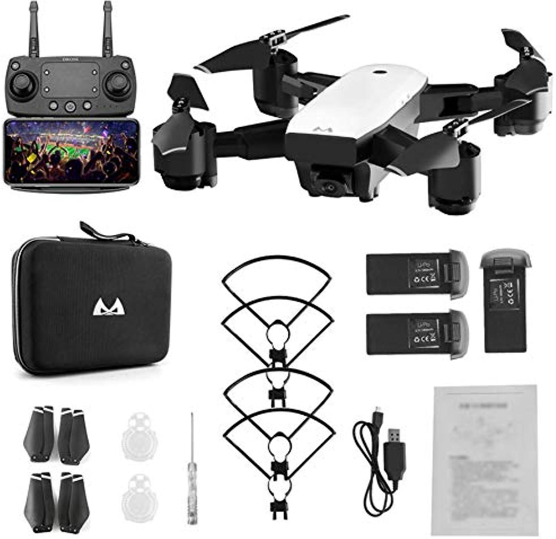 HoganeyVan SMRC S20 Faltbarer 6-Achs-FPV-Drohnen-RC-Quadrocopter mit GPS-360 ° -Weitwinkel 1080P-Kamerahhe für DREI Batterien