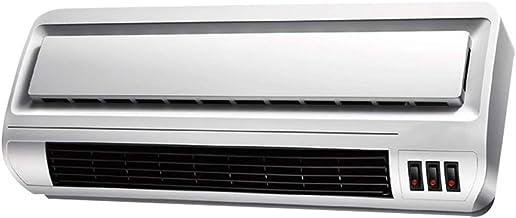YWAWJ Calefactor, Calentador de baño de Pared Resistente al Agua Inicio de baño Calefacción y refrigeración Pequeño