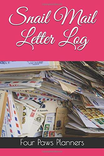 Snail Mail Letter Log