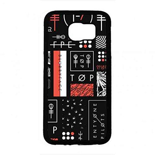 Marinecases Twenty One Pilots Telefon-Kastens,Tasche Hülle Etui für Samsung Galaxy S6,Twenty One Pilots Hülle