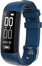 Slimme Polsband Armband Slimme Polsband Hartslag Blauw