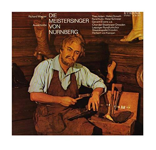 Die Meistersinger von Nürnberg - Ausschnitte Herbert von Karajan, Adam, Donath, Kollo, Schreier, Ridderbusch, Evans Stereo