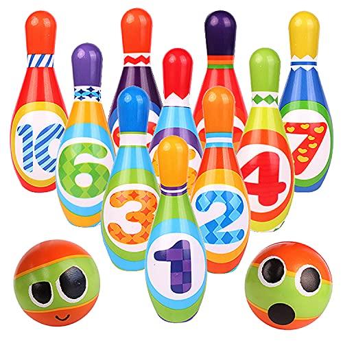 ToyVelt Kids Bowling Set -...