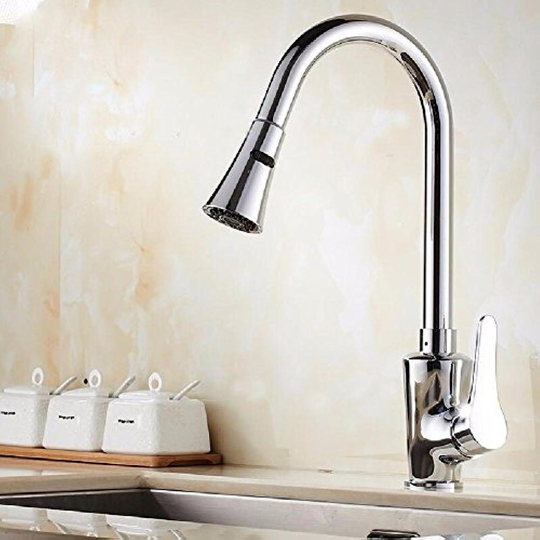 Lalaky Waschtischarmaturen Wasserhahn Waschbecken Spültisch Küchenarmatur Spültischarmatur Spülbecken Mischbatterie Waschtischarmatur Kalt- Und Warmziehen Kann Um 360 Grad Gedreht Werden