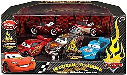 liquidación hasta el 70% Disney   Pixar CARS 2 Movie Movie Movie Exclusive 148 Die Cast Car 5Pack McQueenORama Cruisin, Rusteze, World Grand Prix, Dinoco, Chrome by Disney  hasta 42% de descuento