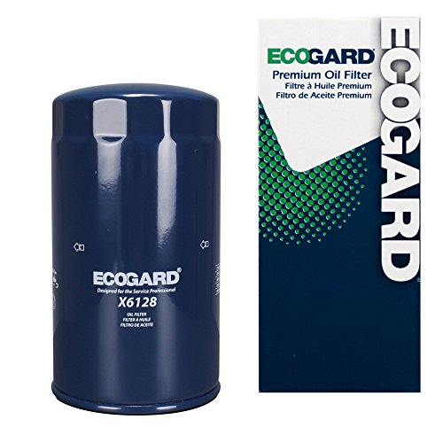 ECOGARD X6128 Premium Spin-On Engine Oil Filter for Conventional Oil Fits Ford...