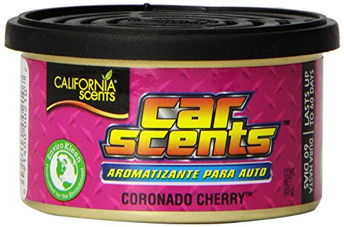 Californie Senteurs Californie Parfums voiture, voiture anti-renversement Cerise Coronado