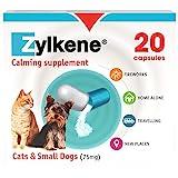 Vetoquinol Uni Zylkene 75mg-kapseln Für Katzen Und Kleine Hunde-20, Clear, 20 Stück (1er Pack)