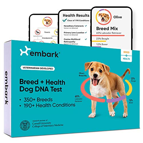 Embark | Dog DNA Test | Breed & Health Kit | Breed Identification & Canine...