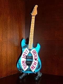 Mini Guitar BON JOVI NEW JERSEY Statuette GIFT