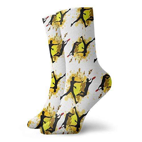 zhouyongz Socken für Herren und Damen, gepolstert, für sportliche Wanderungen, Kompressionsstrümpfe