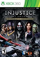 XBOX 360 GAME INJUSTICE: GODS AMONG US ULTIMATE EDITION BRAND NEW & SEALED