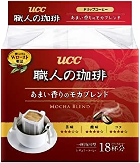 UCC craftsman of coffee drip coffee sweet aroma of mocha blend 18P