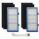 BestParts 2 Pack HEPA Filters Carbon Booster Sheet HAPF30AT Replacement for Holmes Hepa Type Total Air Filter HAPF30AT Holmes Air Purifier Filter AER1 Series