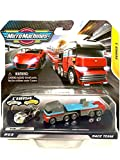 Micro Machines Scale Miniatures Series 1 Race Team #03, Rare Silver Chase 0069 GT-7 and Transporter