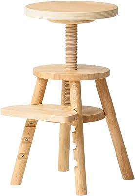 ideaco (イデアコ) 昇降スツール リフトスツール Lift stool 子供スツール ナチュラル W290xD290xH400~550mm ビーチ Plywood Series(プライウッドシリーズ) ideaco家具 furniture