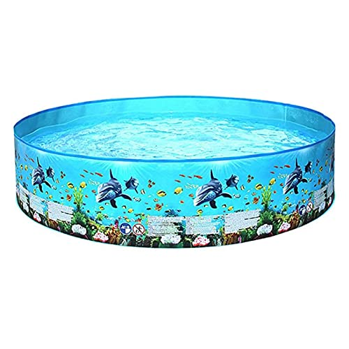 Inflatable Swimming Pool, Inflatable Pool with Soft Floor for Kids Toddlers, Baby Swimming Pool Toddler Pool for Summer Garden Pool Outdoor,244 * 38cm
