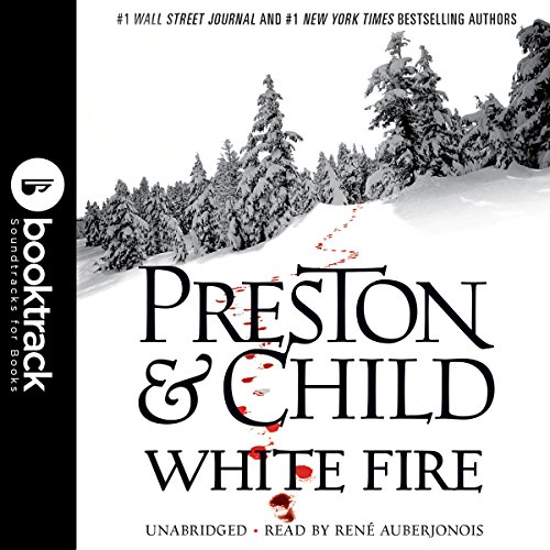 White Fire audiobook cover art